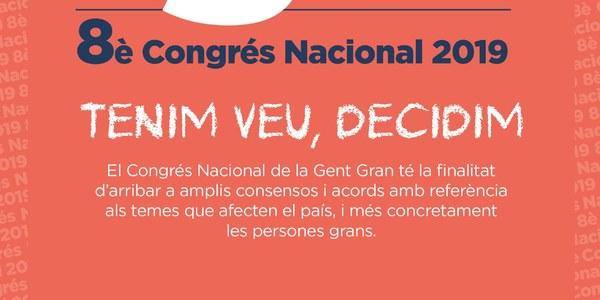 Acte precongressual del 8è Congrés Nacional de la Gent Gran