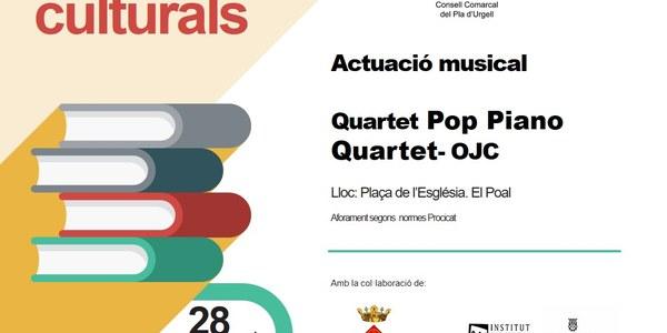 Actuació Pop Piano Quartet_OJC al Poal