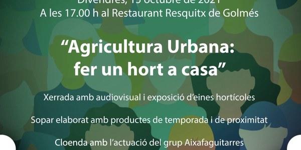 Celebració del Dia Internacional de la Dona Rural al Pla d'Urgell