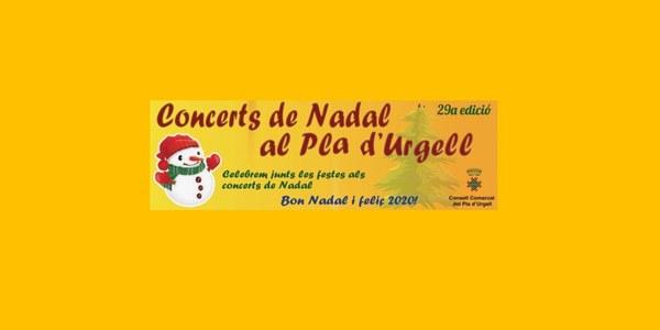 Concert de Nadal al Palau d'Anglesola a càrrec de la Coral Verge del Lliri