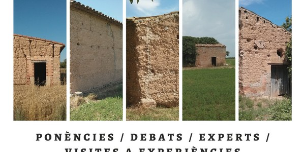 SUSPÈS: Congrés sobre la tàpia a les Terres de Lleida 2020