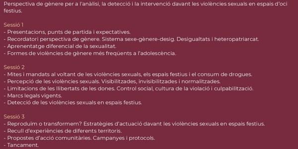 Formació per a persones vinculades a l'àrea de joventut a la comarca del Pla d'Urgell
