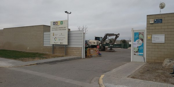 Imatge de la deixalleria de Mollerussa