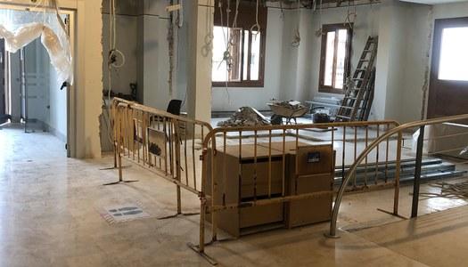 Iniciades les obres de millora a l'edifici del Consell Comarcal