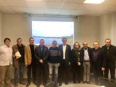 Imatge de la reunió d'aquest dilluns