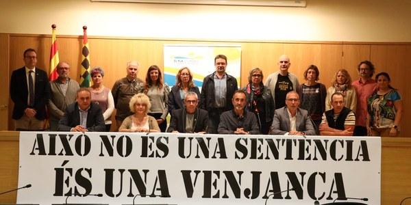 Imatge del plenari després de l'aprovació de la moció