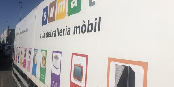 Imatge de la deixalleria mòbil de Mollerussa