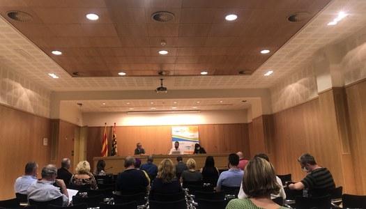 Agraïment del Ple a la tasca feta per Àlex Mases com a conseller-portaveu d'ERC-AM