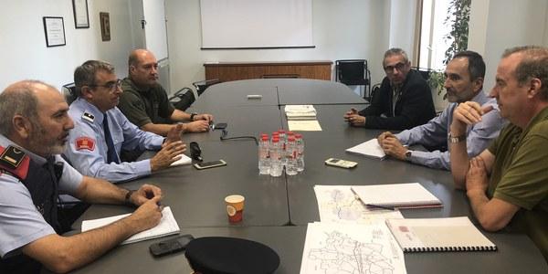 Imatge de la reunió celebrada la setmana passada
