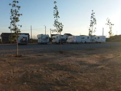 Imatge de la nova àrea per a autocaravanes a Sidamon