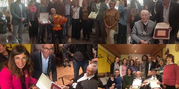 Distincions a comarcans centenaris