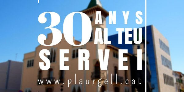 El Consell Comarcal del Pla d'Urgell celebra el trentè aniversari de la seva constitució
