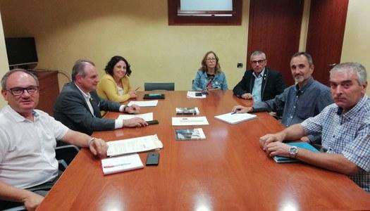 El Consell planteja a l'ACA la idoneïtat de completar el sistema de depuració d'aigües residuals del Pla d'Urgell
