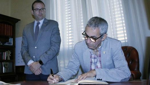 El president Panadés inicia les visites institucionals