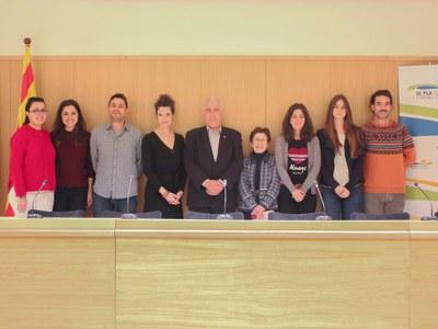El programa Enfeina't genera 7 llocs de treball al Consell Comarcal del Pla d'Urgell