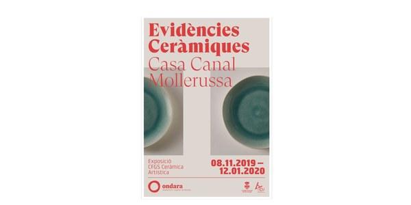 Evidències ceràmiques, exposició a l'Espai Cultural dels Canals d'Urgell