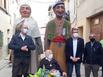 Commemoració a Bellvís pel centenari del veí Tonet Salvia