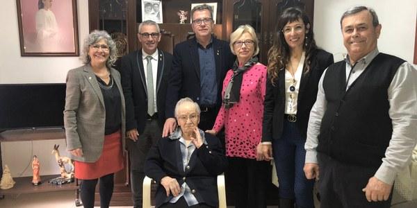 Homenatge centenari a Bellvís