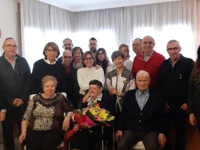 Homenatge centenari a Golmés
