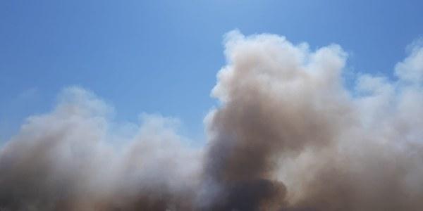 Incendi a l'abocador comarcal sense danys