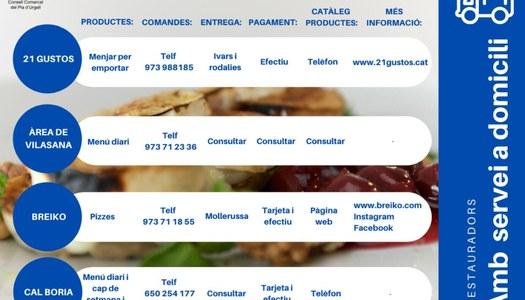 Iniciativa comarcal per dur àpats i productes agroalimentaris locals a casa