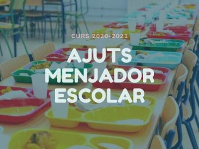 Obert el termini per a la presentació de sol·licituds per als ajuts de menjador escolar