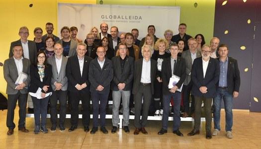 Panadés assisteix a la reunió de GLOBALleida
