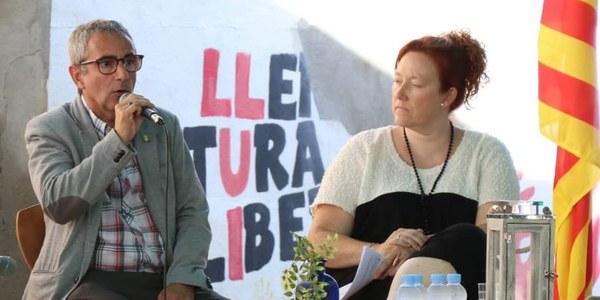 Intervenció del president en resposta a les preguntes de Núria Ribes, de la revista l'Avenç del Palau