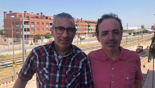 Panadés rep l'escriptor Francesc Canosa