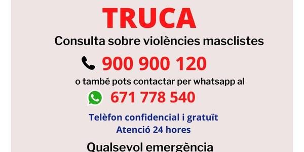 Per un confinament segur, truca
