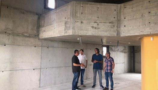 Pren forma el futur espai cultural i de degustació de l'Estany d'Ivars i Vila-sana