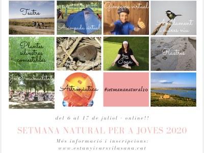 Primera Setmana Natural per a Joves a l'Estany d'Ivars i Vila-sana en línia