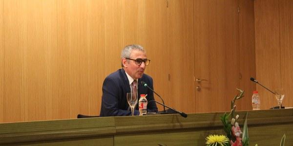 Rafel Panadés, president del Consell Comarcal del Pla d'Urgell per a la legislatura 2019-2023