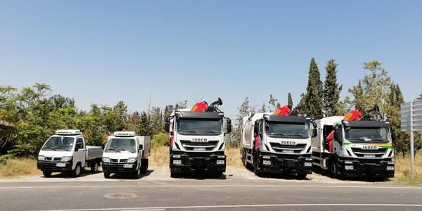 Renovació al parc de vehicles que fan la recollida de la brossa als municipis Pla d'Urgell