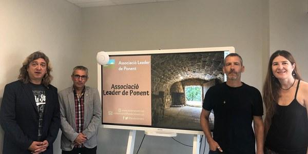 Reunió a Mollerussa pel projecte Leader Ponent