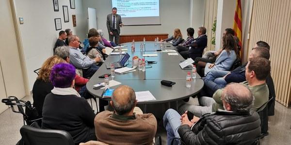 Reunió amb el director de l'Agència de Residus de Catalunya