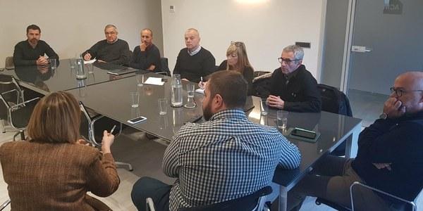 Imatge de la reunió a la seu de l'ACM a Barcelona (Foto ACM)