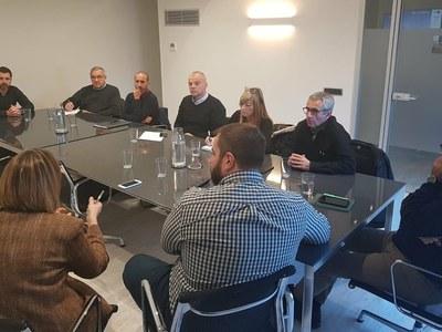 Reunió de l'executiva del Fòrum Comarcal de l'ACM